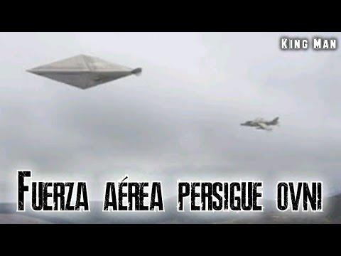 El más impactante registro de un OVNI perseguido por la fuerza aérea de México