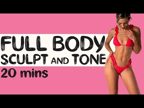 FULL BODY SCULPT & TONE | 20 min Pilates Workout