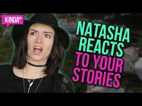 NATASHA REACTS TO YOUR SPRING STORIES! | KindaTV