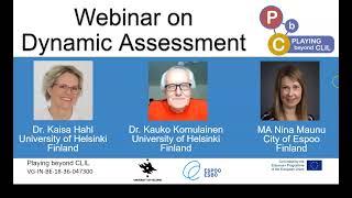Dynamic Assessment   Webinar 3