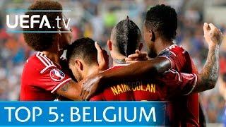Top 5 Belgium EURO 2016 qualifying goals: Hazard, De Bruyne and more