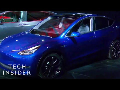 Watch Elon Musk Unveil The Tesla Model Y SUV