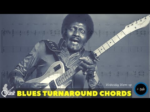 Warming up with... BLUES TURNAROUND CHORDS