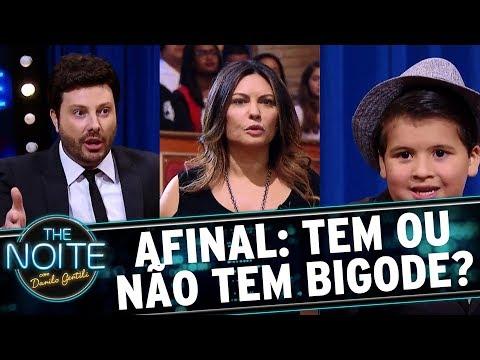 Márcia Goldschmidt resolve treta entre Danilo e Ricardo   The Noite (16/11/17)