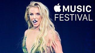 Britney Spears - 2016 Apple Music Festival 10 (Backstage)