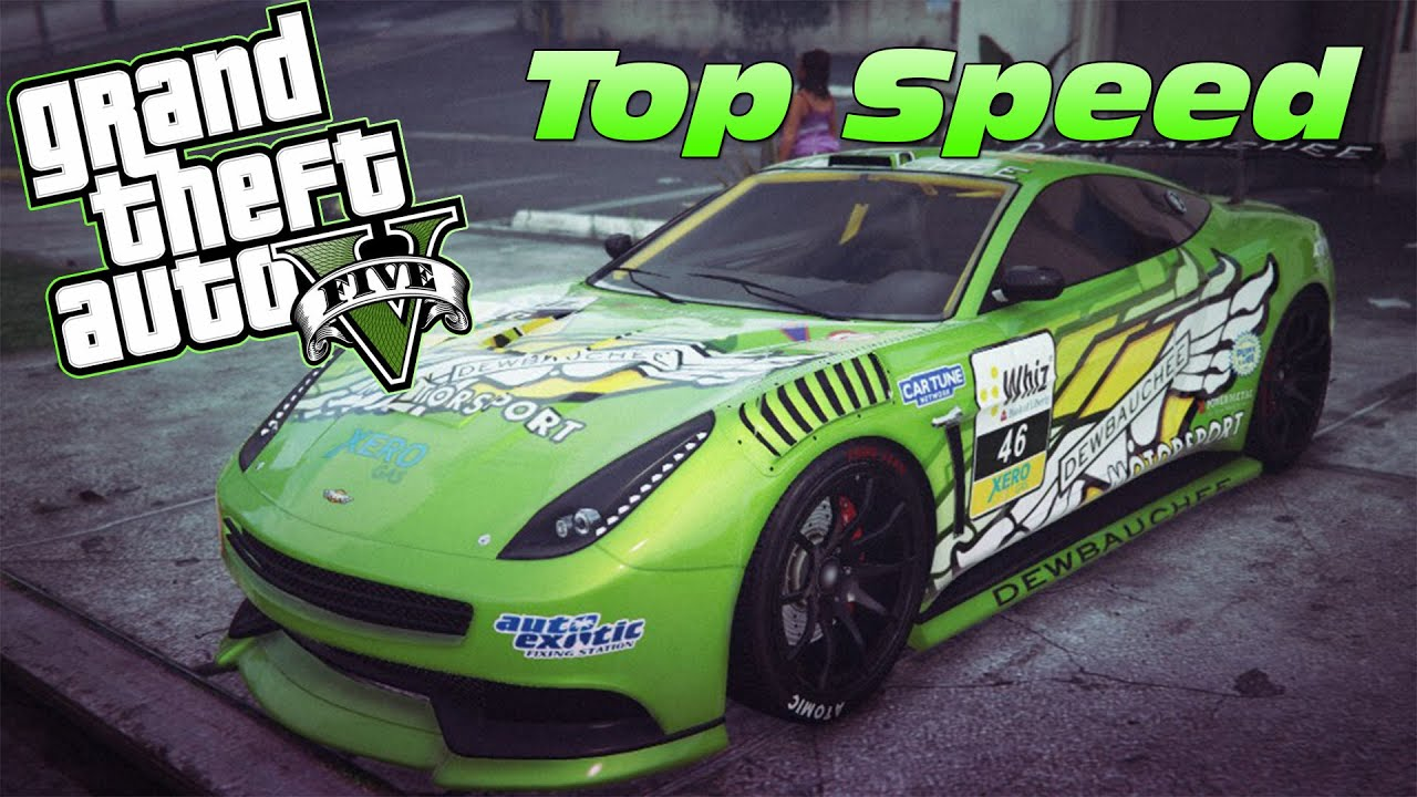 GTA 5 Online: Dewbauchee Massacro (Racecar) Top Speed ...