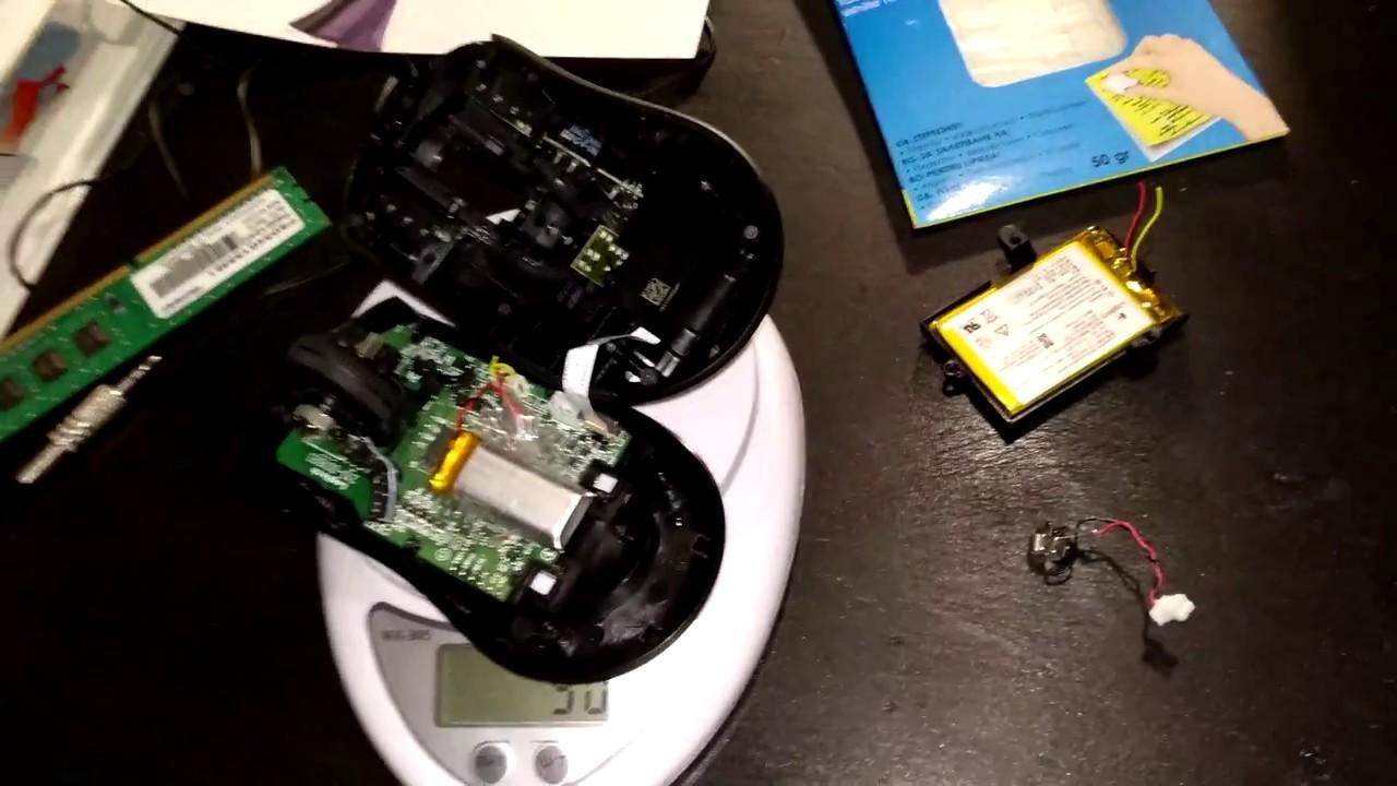 Logitech G703/G403 Wireless - Weight reduction MOD (+Tutorial)