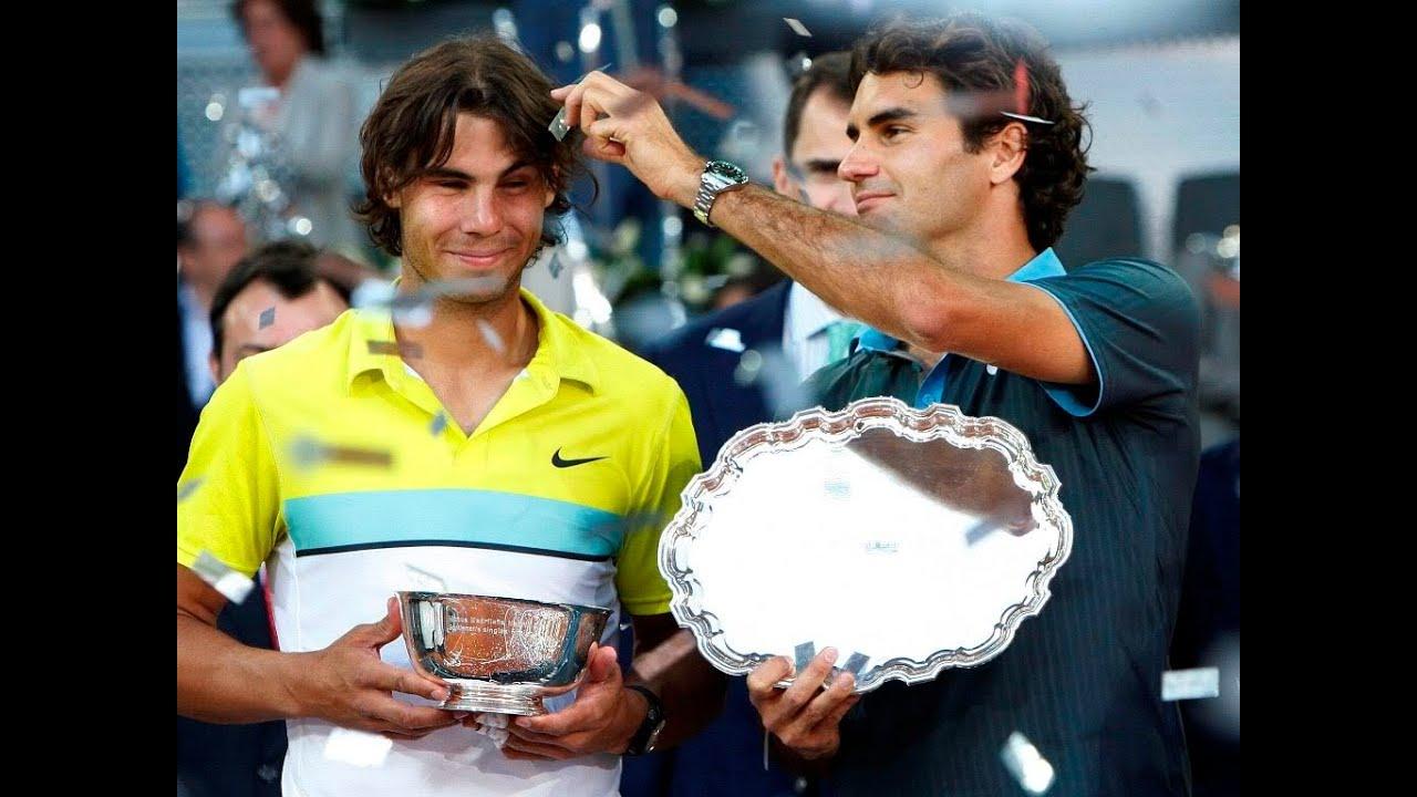 Image result for Federer and Nadal