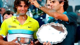 Rafael Nadal and Roger Federer - 11 Years of Rivalry (HD)