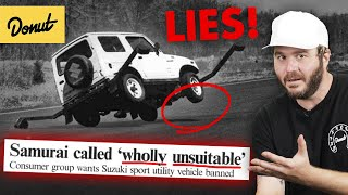 SUZUKI SAMURAI: How Fake News Killed Suzuki | Up To Speed
