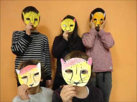 School Etienne Dolet - Paris 20th District Celebrates International Cheetah Day 2015