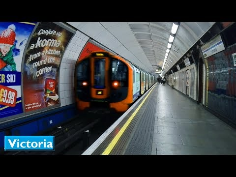 Victoria | Victoria line : London Underground ( 2009 Tube Stock )