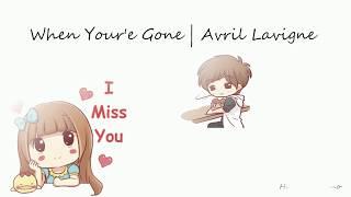 Gambar cover Avril Lavigne - When You're Gone Acoustic (Lirik dan Terjemahan Indonesia)