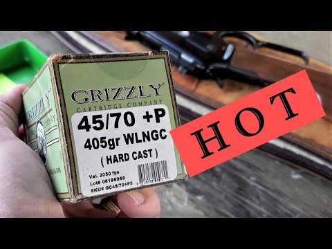 45 70 Hot Grizzly +P - Chrono Data
