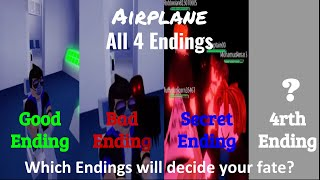 ROBLOX Airplane | All 4 Endings