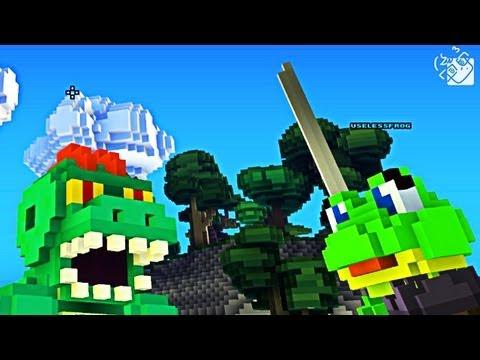 Гагатун и Юзя познают мир Cube World