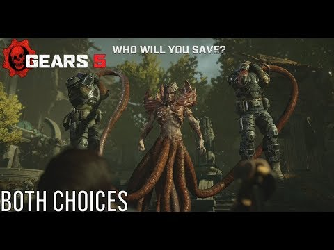 Queen Reyna Forces Kait To Choose JD Fenix Or Del (Both Choices) - Gears 5 (Gears Of War 5) #Gears5