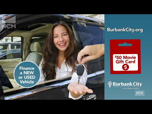Burbank City FCU Movie Ad