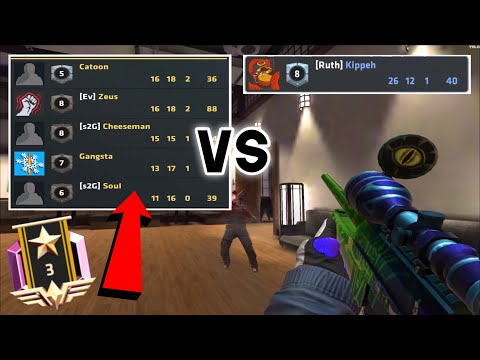 ELITE OPS RANKED vs Pro players! || Critical Ops 1.22.0 || Ruth Kippeh