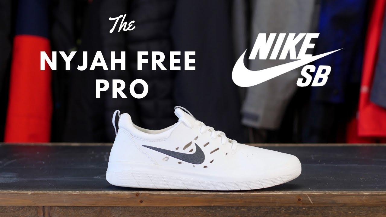5d63eeaa51ade The Nike SB Nyjah Free Pro Shoe - YouTube