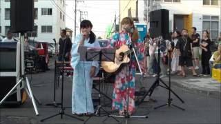 8.7 札幌市 萬蔵祭 でのライブ映像です!! すごい風でした~~^^ ツ...