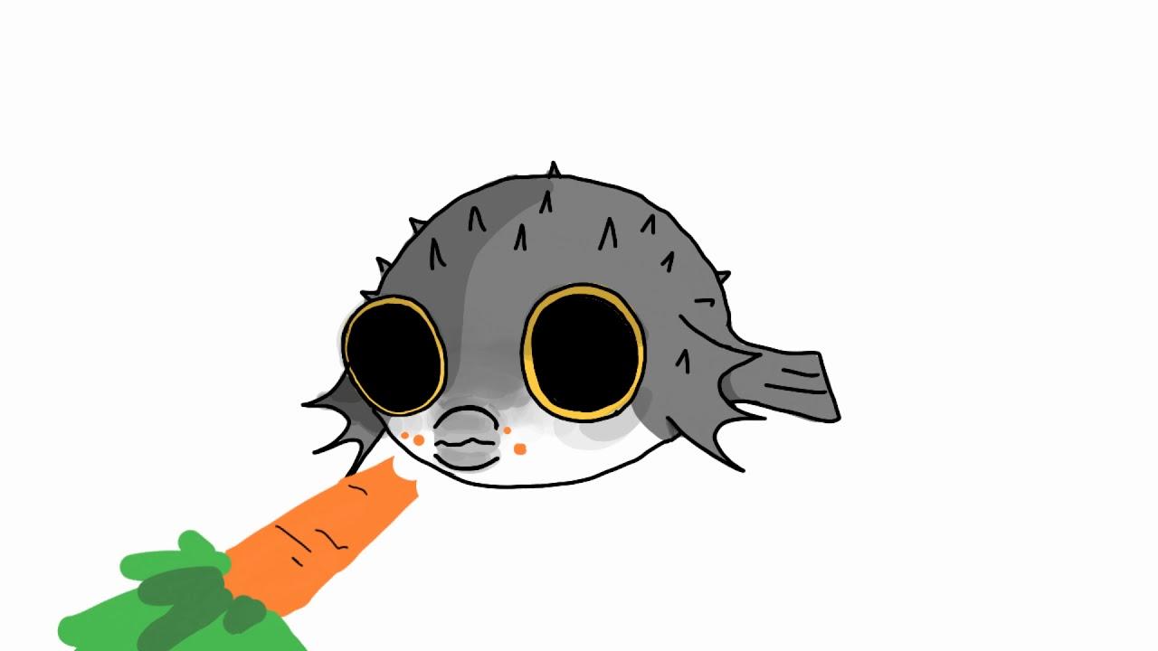 | Pufferfish Meme | animation FlipaClip | - YouTube