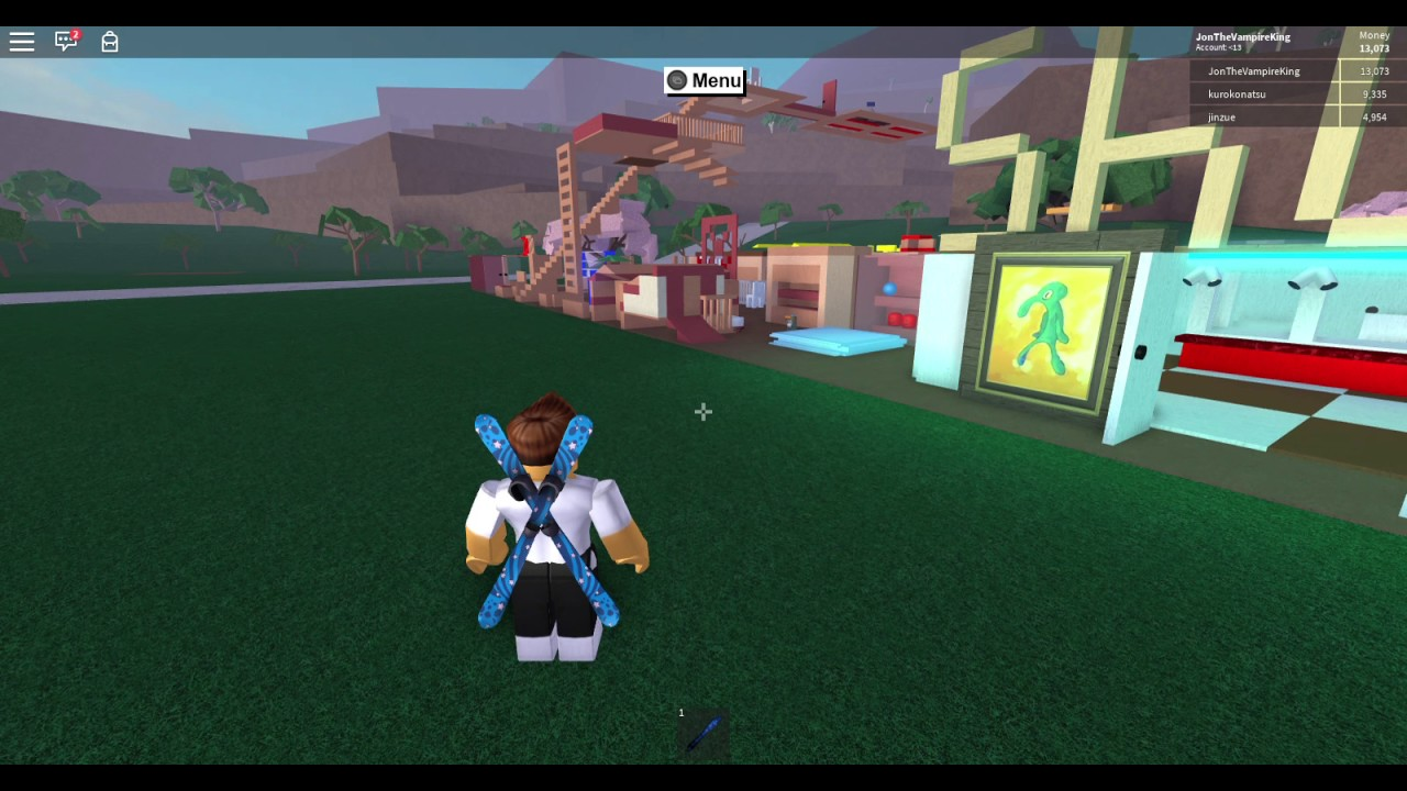 Lumber Tycoon 2 with Xbox controls