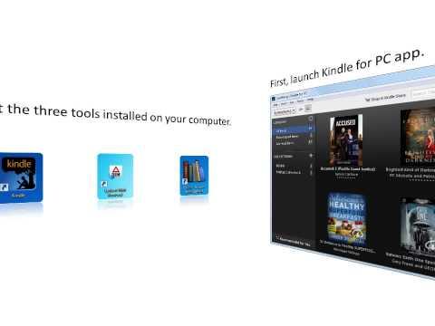 How to convert Kindle eBooks to EPUB