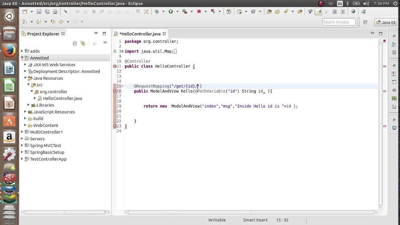 Spring MVC Tuorials -5 Path Variable annotation