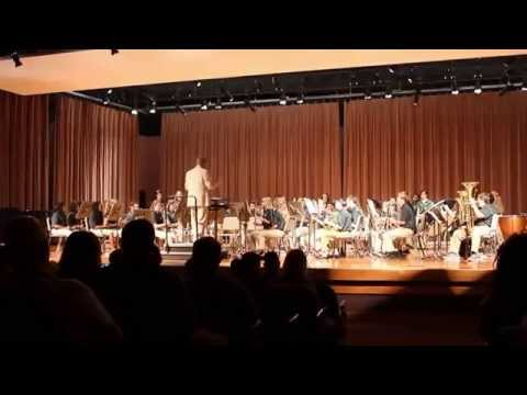 Rawlinson Road Middle School 7th Grade Band Spring Concert 2015