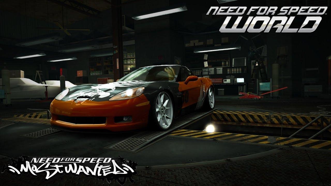 Need For Speed World Webster Chevrolet Corvette Z06 ...