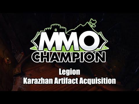 Legion - Karazhan Artifact Acquisition