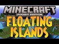 Floating Islands, Sugar Cane, Exposed Iron - Minecraft Pocket Edition Seed