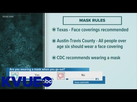 Where Do You Have To Wear A Mask In Texas? | KVUE