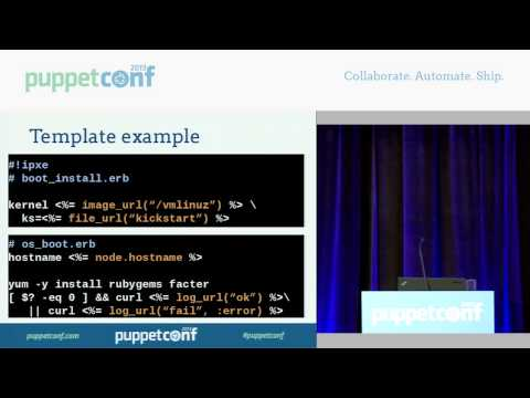 Razor: A Fresh Look at Provisioning - PuppetConf 2013