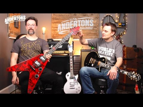 New Artist Models from Epiphone - Jeff Waters, Bjorne Gelotte & Tommy Thayer