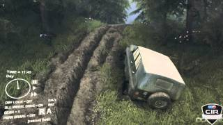 Spin Tires Gameplay PC/HD 7750 (Romana) [Jeep-ul]