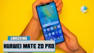 Huawei Mate 20 Pro unboxing e primo avvio