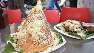 BURJ KHALIFA DOSA   India's Biggest Dosa   Indian Street Food