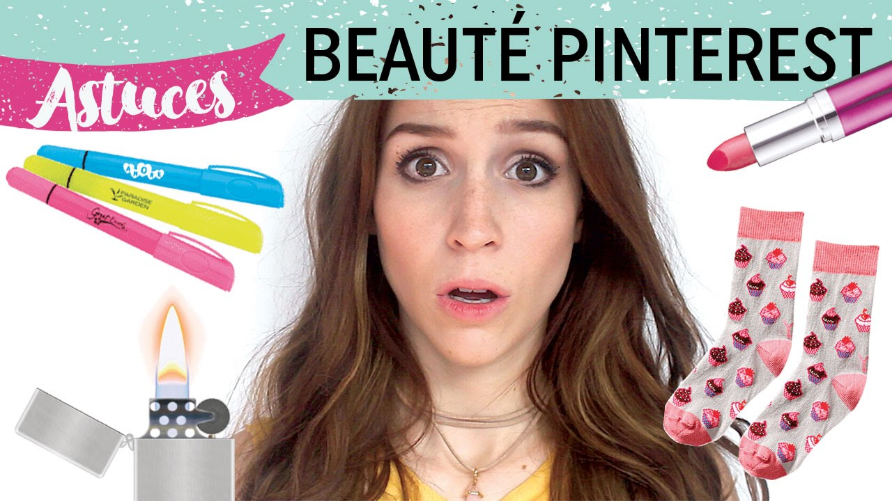 Beliebt JE TESTE DES ASTUCES PINTEREST LOUCHES ! - YouTube US91