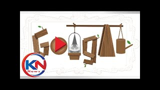 History of garden gnomes Google Doodle - search engine celebrates lawn ornaments with special game