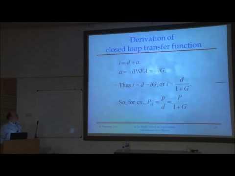 Peter R Saulson - Control Systems (Basics (feedback))