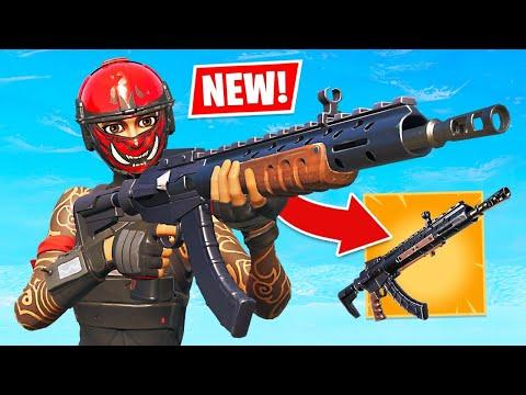 NEW UPDATE! Legendary Heavy Assault Rifle!! (Fortnite Battle Royale)