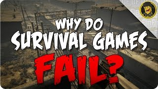Why Do Survival Games Fail? (Nether Gameplay)