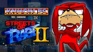 Knuckles in Streets of Rage 2 - Walkthrough