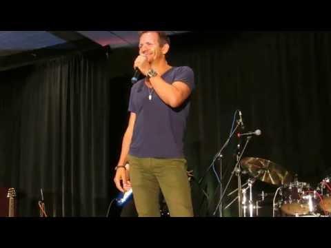 Sebastian Roche doing impressions of his cast mates