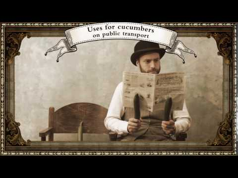 Uses for Cucumbers - 1. Newspaper Holders