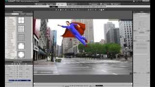Making the Superman Cape: iClone Tutorial (physics cloth for clothing)