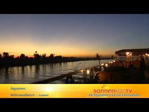 Nilkreuzfahrt - Luxor - Luxor, Oberägypten, Ägypten - Urlaub - Reise - Video