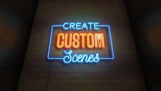 Neon Sign Kit With Photo | After Effects template